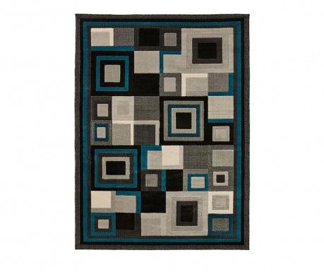 Tepih Hudson Black & Blue