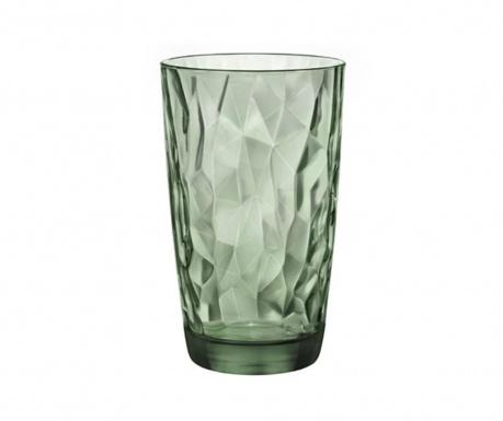 Čaša Diamond Long Green 470 ml