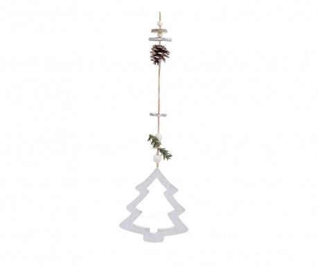 Závesná dekorácia White Christmas Tree