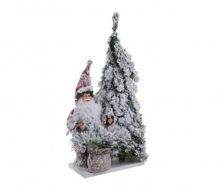 Декорация Snowy Santa Claus