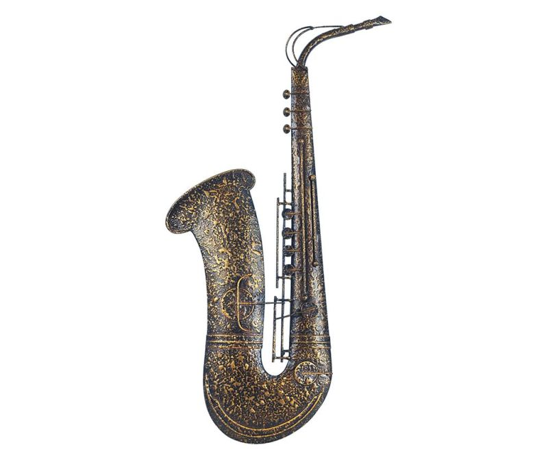Decoratiune de perete Saxophone