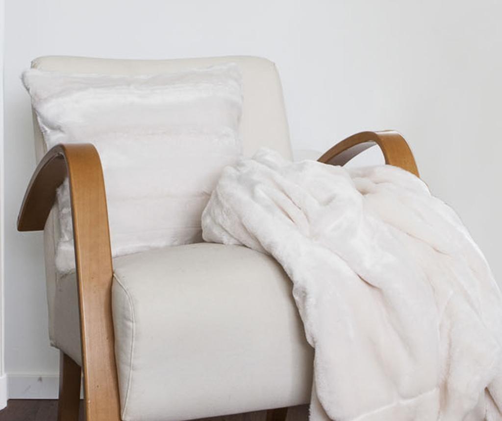 Fata de perna Falcon White 45x45 cm