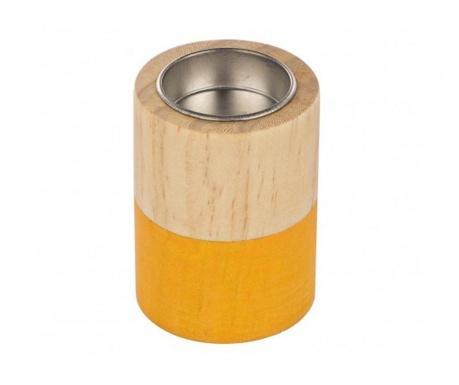 Свещник Cylinder Orange Small