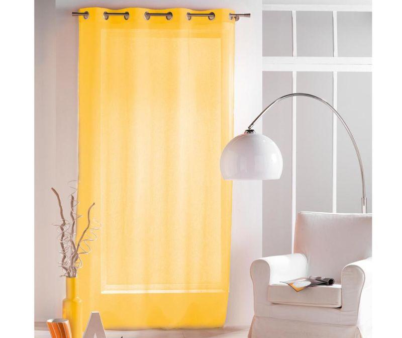 Perdea Paloma Yellow 140x240 cm