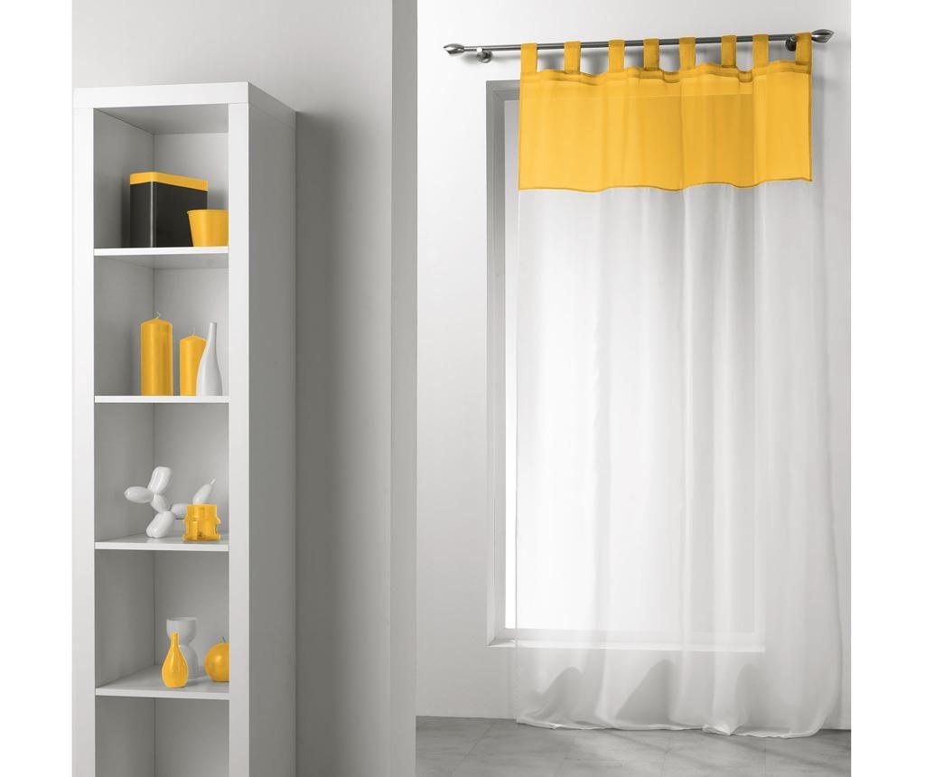 Perdea Duo White Yellow 140x240 cm