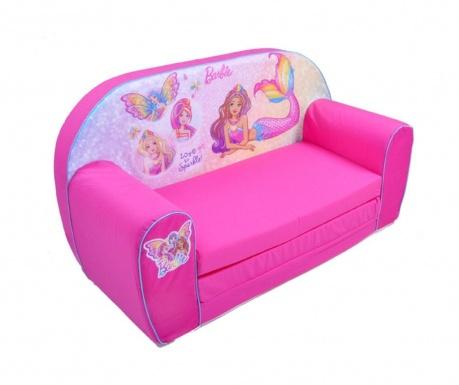Rozkładana kanapa dziecięca Princess Barbie