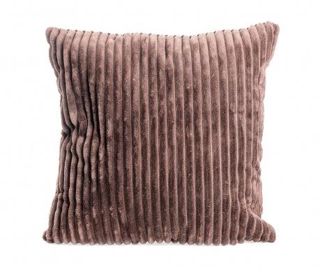 Striped Brown Díszpárna 45x45 cm