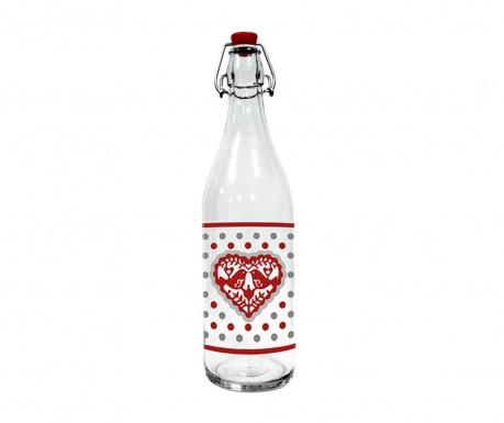 Fľaša so zátkou Jolly Hearts 1 L