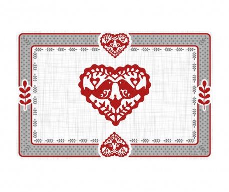 Prestieranie Jolly Hearts 29x43 cm