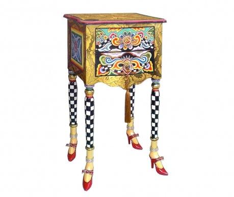 Versailles Asztalka 2 fiókkal