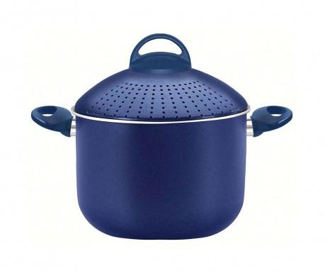 Pasta Blue Tésztafőző fazék fedővel 5 L