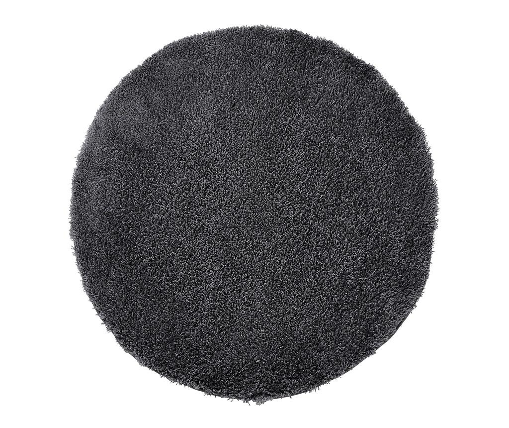 Covor Vista Circle Dark Grey 133 cm