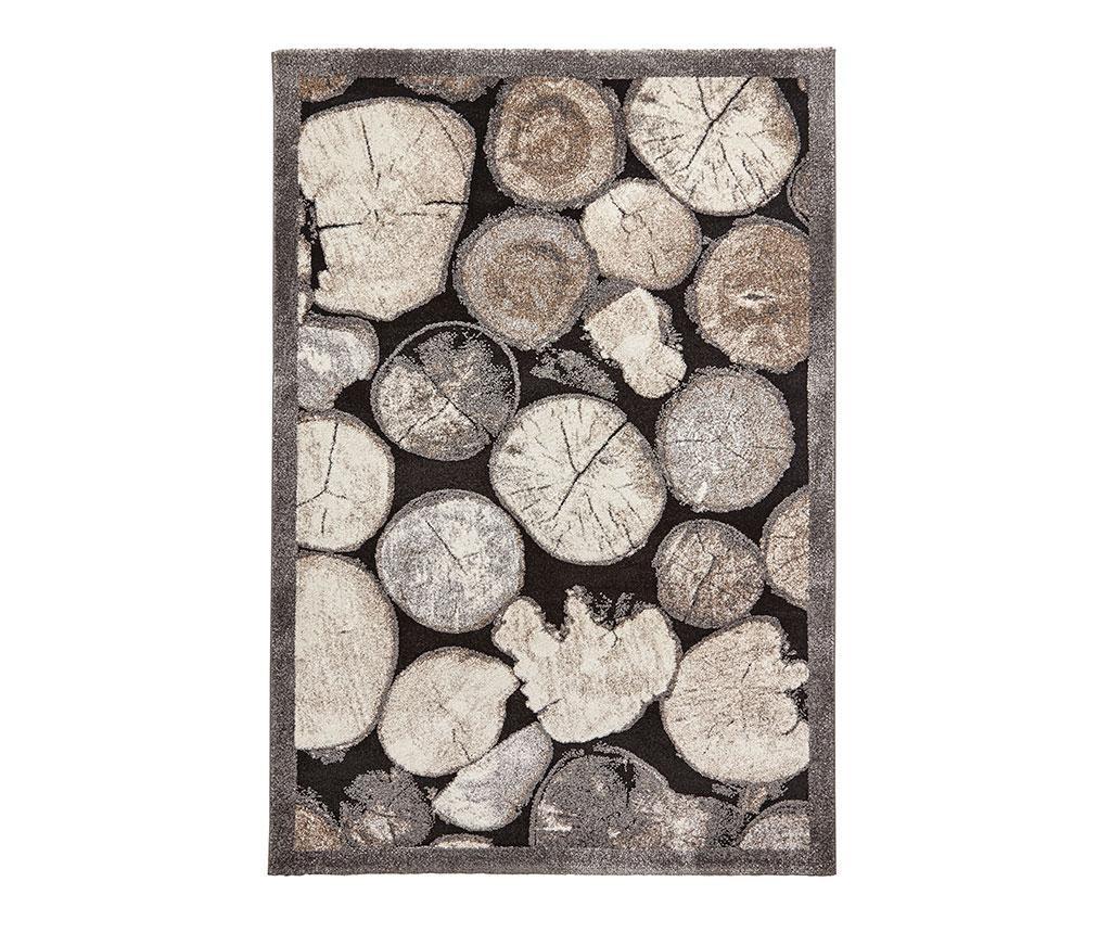 Tepih Woodland Cream & Grey 160x220 cm