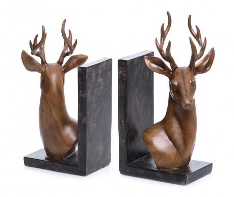 Deer 2 db Könyvtámasz