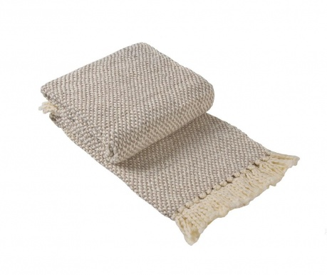 Κουβέρτα Cinar Light Brown 130x170 cm