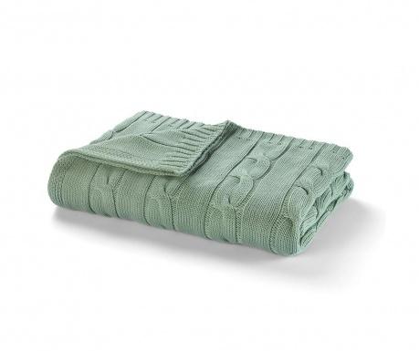 Κουβέρτα Messina Sage Green 130x170 cm