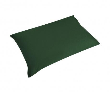 Sada 2 obliečky na vankúš Percale Loryn Dark Green 50x70 cm