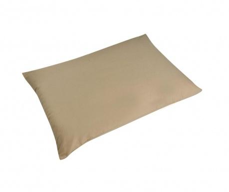 Sada 2 obliečky na vankúš Percale Loryn Warm Grey 50x70 cm