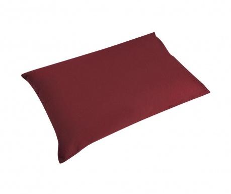 Sada 2 obliečky na vankúš Percale Loryn Red Wine 50x70 cm