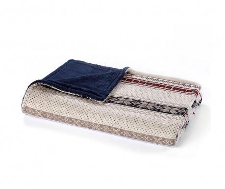 Κουβέρτα Barnes Gray 130x170 cm