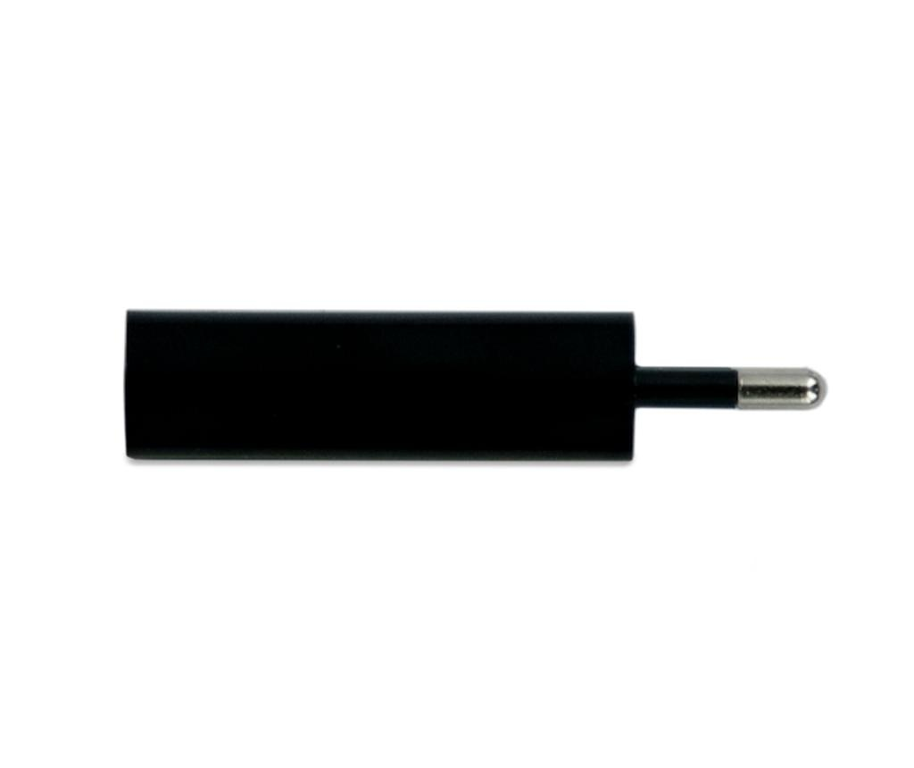 Adapter za vtičnico Mono USB Black
