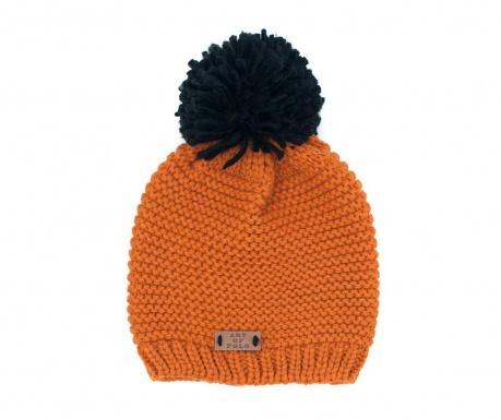 Handy Orange and Black Sapka 52-56 cm