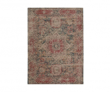 Covor Camlin Red and Beige
