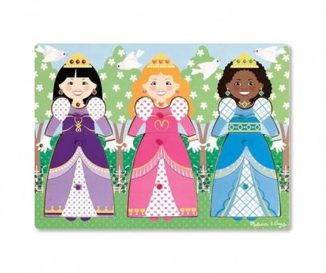 Παιχνίδι παζλ 10 κομματιών Princess