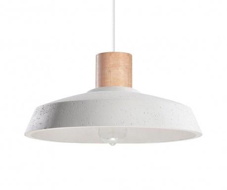 Závesná lampa Arrigo White Natural