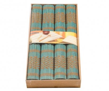 Blue Knit 4 db Tányéralátét 35x40 cm
