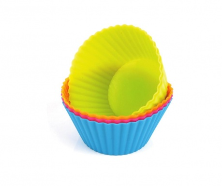 Multicolor 12 db Muffin sütőforma