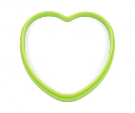 Heart Green Tükörtojás forma