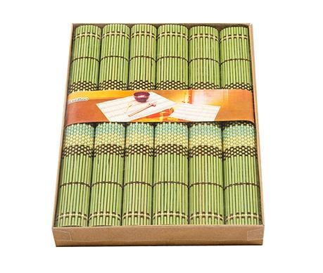 Bamboo Green 6 db Tányéralátét 35x40 cm