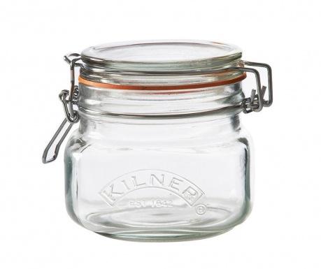 Clip Top Diff Befőttes üveg   légmentesen záró  fedővel 500 ml