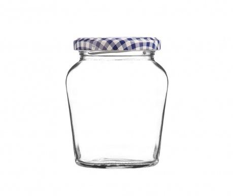 Round Twist Befőttesüveg fedővel 260 ml