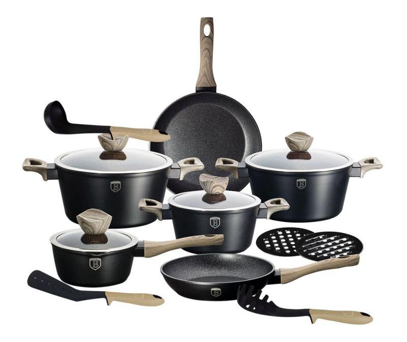 15-dijelni set posuda za kuhanje Royal Black