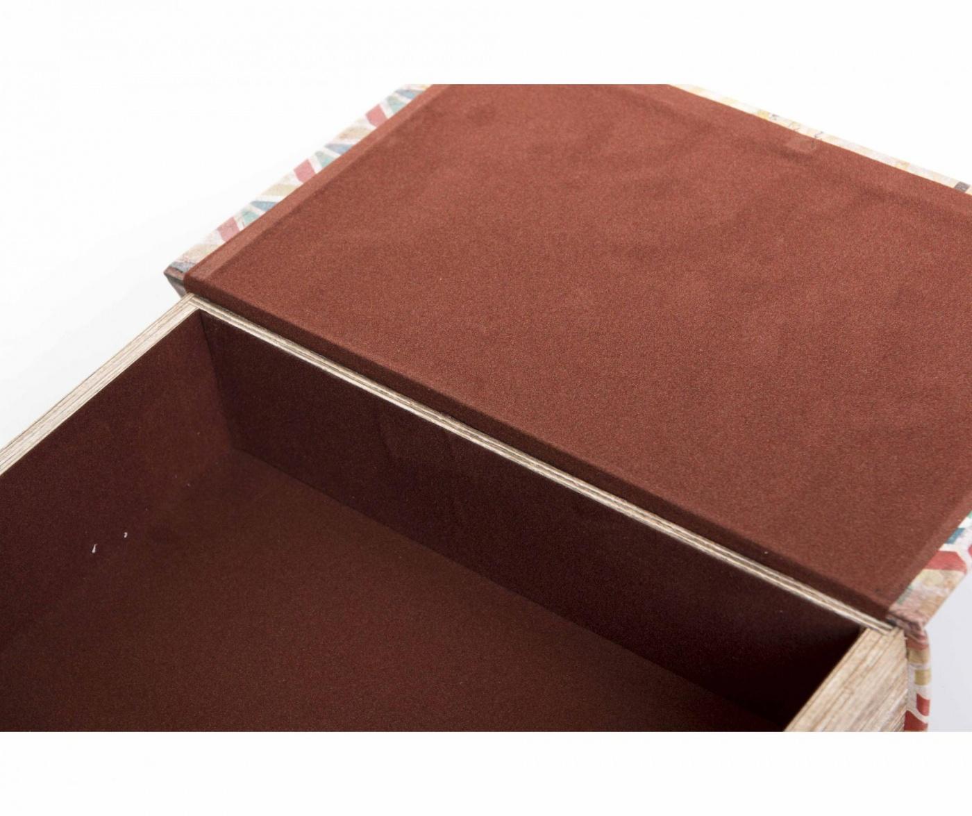 Krabica v tvare knihy American Tropical