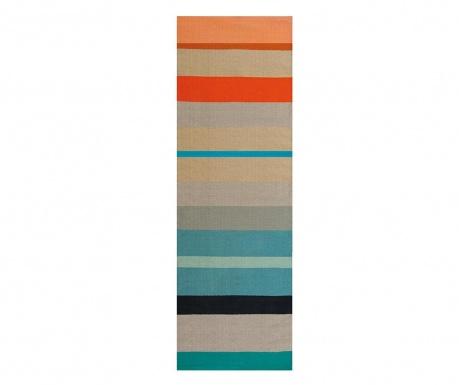 Sandy Stripes Rongyszőnyeg 80x250 cm