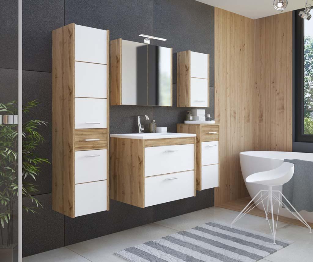 Viseći element sa zrcalom Ibiza Wood