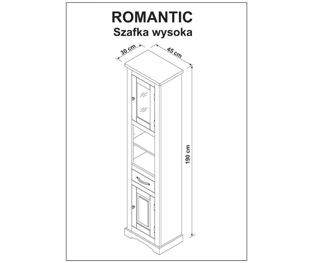 Skříň do koupelny Romantic
