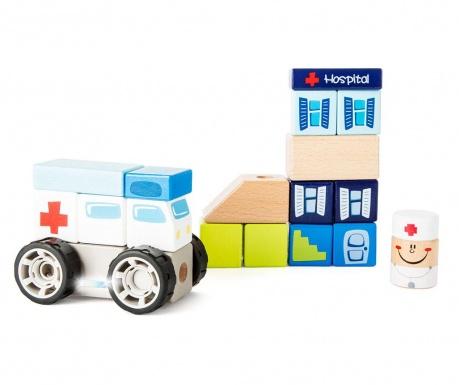 19-dijelni set za građenje Ambulance
