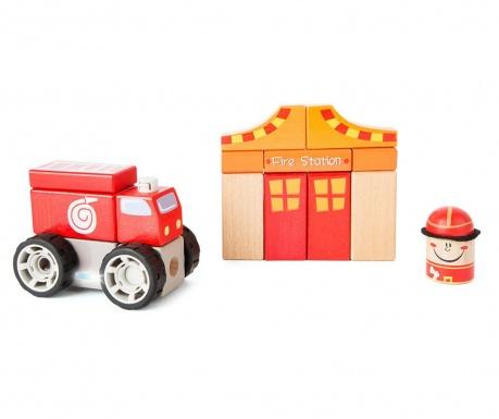 15-dijelni set za građenje Fire Brigade