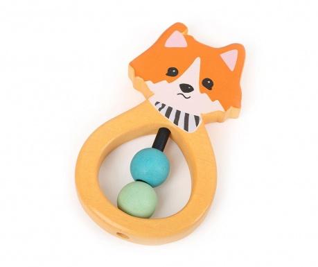 Igračka zvečka Lex the Fox