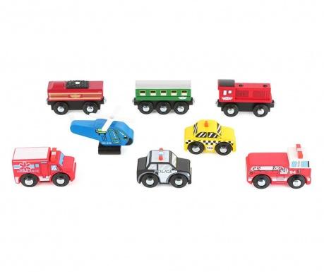 Set 8 autića igračke Formula 1