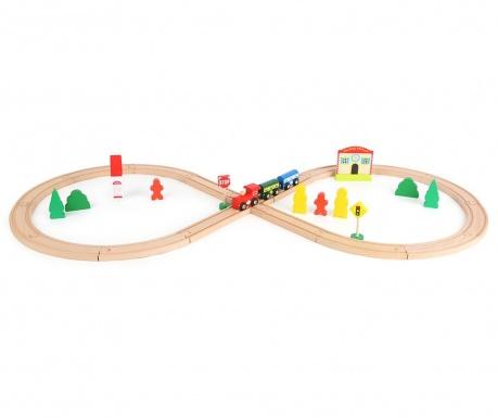 33-dijelni set za građenje Train Station