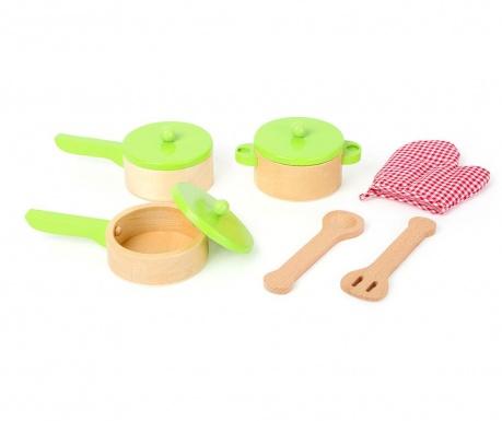 9-dijelni set za kuhanje igračka Kitchens