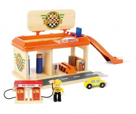 Set servis za autiće igračke Play and Fun