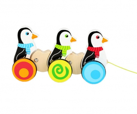 Igračka za vučenje Penguins