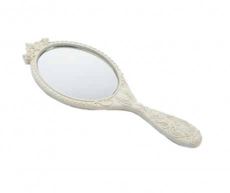 Ručné zrkadlo Suzon Matt White