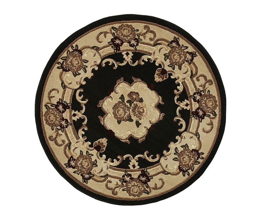 Koberec Marrakesh Black Circle 140 cm